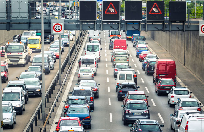 Pfingsten steht vor der Tür: Viel Stillstand auf Autobahnen