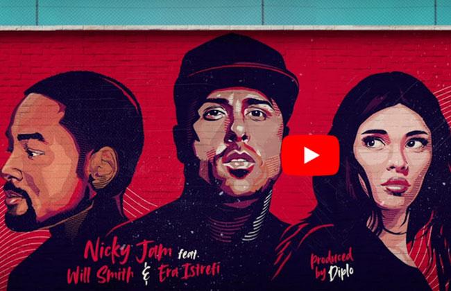 Den Wm Song Liefernses Jahr Will Smith Nicky Jam Und Era Istrefi Foto Youtube Screenshot
