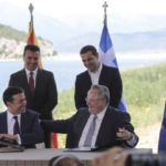 Namensdeal zwischen Griechenland und Mazedonien offiziell unterzeichnet
