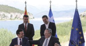 Mazedonien-Griechenland-Namensdeal-Unterzeichnung-Vereinbarung