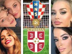 Spielerfrauen-Kroatien-Serbien