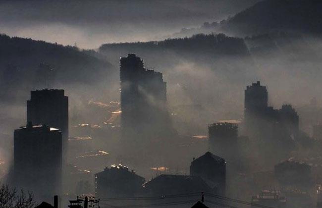 Luftverschmutzung-Serbien