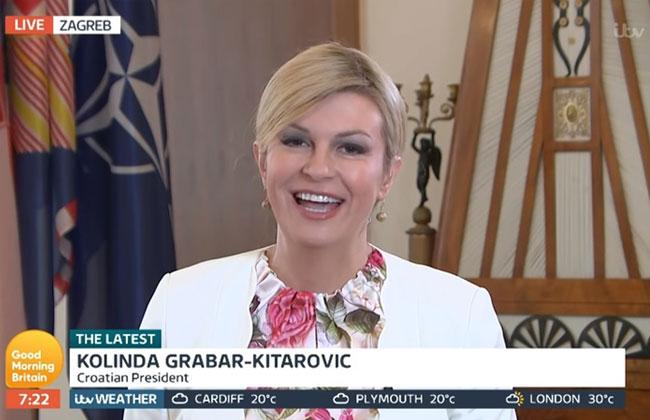 Kolinda-Grabar-Kitarovic---Good-Morning-Britain