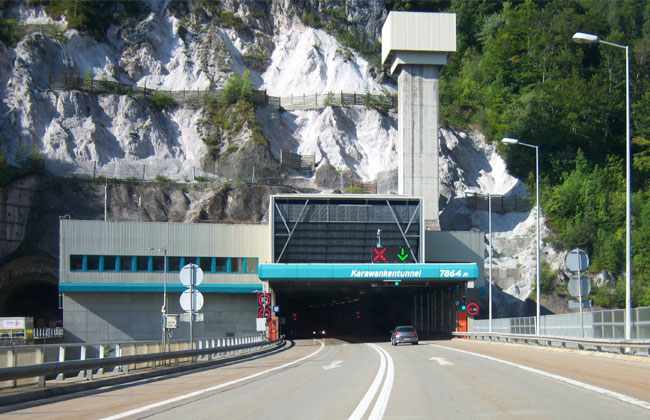 Karawanken-Straßentunnel