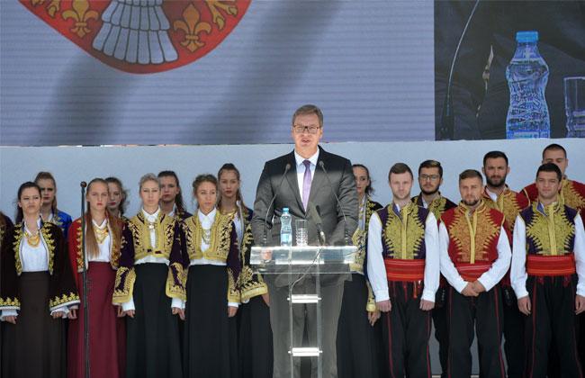Vucic Kosovo Rede