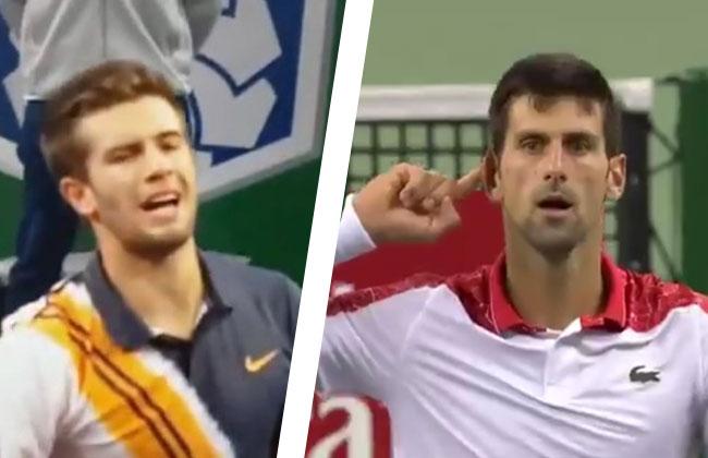 Coric-Djokovic-Reaktion
