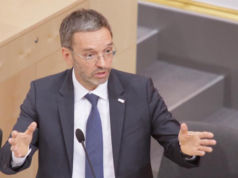 Herbert Kickl Innenminister