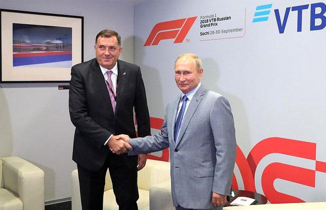 Putin Dodik Sotschi