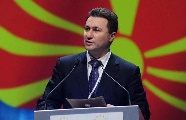 Gruevski Flucht Ungarn Mazedonien
