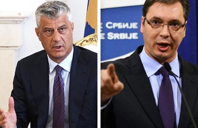 Handelsstreit-Kosovo-Serbien-Vucic-Thaci