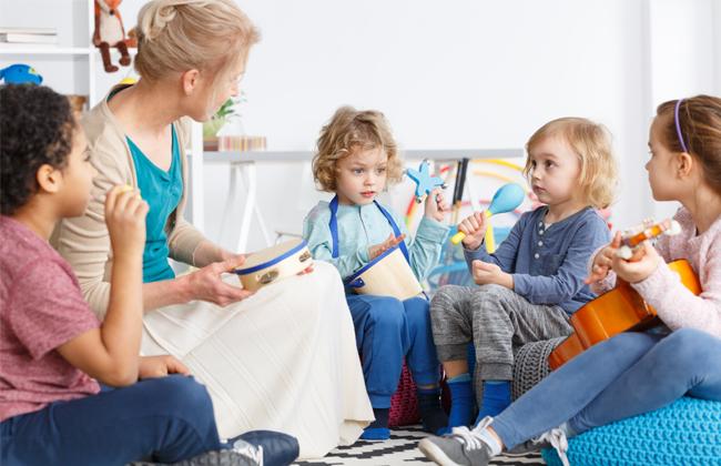 Hauptanmeldezeit städtische Kindergärten
