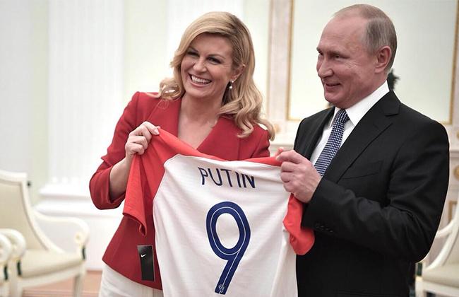 Kolinda Grabar Kitarovic Vladimir Putin