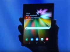 Faltbares Smartphone Samsung