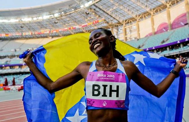 Afrika Liebe Bosnien Athletik