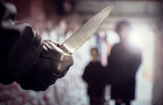Schule Messer Attacke