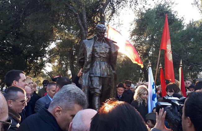 TIto Podgorica Denkmal