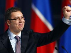 Aleksandar Vucic Serbien Präsident Wahl 2022