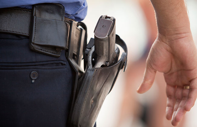Polizei-Spatzilutscher-Anzeige