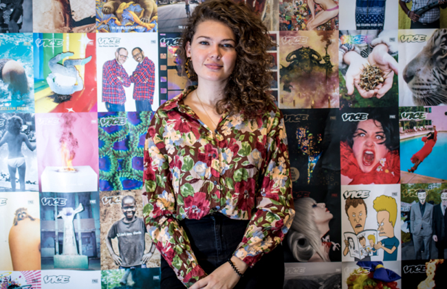 Alexandra Stanić VICE Redaktionsleitung Magazin Österreich