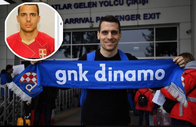 Dinamo Zagreb Serbe Komnen Andric Kroatien