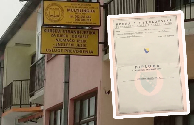 EU Diploma Bosnien Korruption