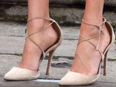 Zu große Schuhe