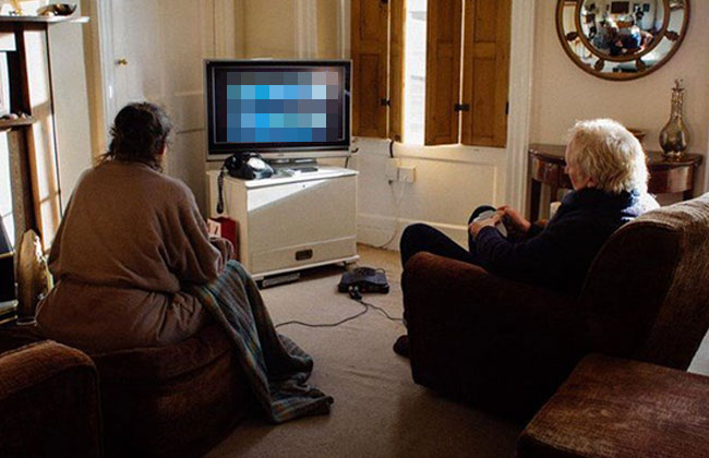 Videospiele Ehepaar