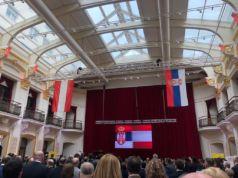 Empfang in der Botschaft der Republik Serbien anlässlich des Nationalfeiertages