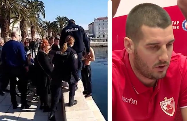 Attacke auf die serbische Wasserballspieler