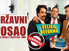 """Theaterstück """"Državni posao - Velika reforma"""""""