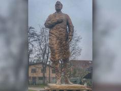Das Denkmal von Franjo Tuđman