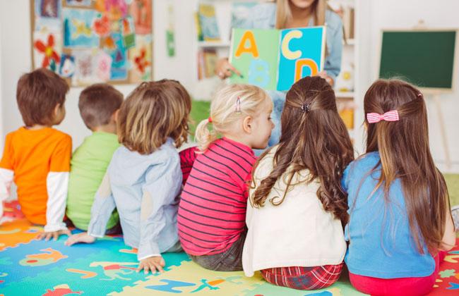 Kindergarten-Kinder-Sprachprobleme-Deutsch