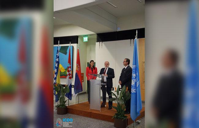 Die ICDO und der VIC Art Club haben die Ausstellung 'Bridging Diversity: Art & Expression' am 16. April 2019 in den Vereinten Nationen in Wien in einem festlichen Akt eröffnet.