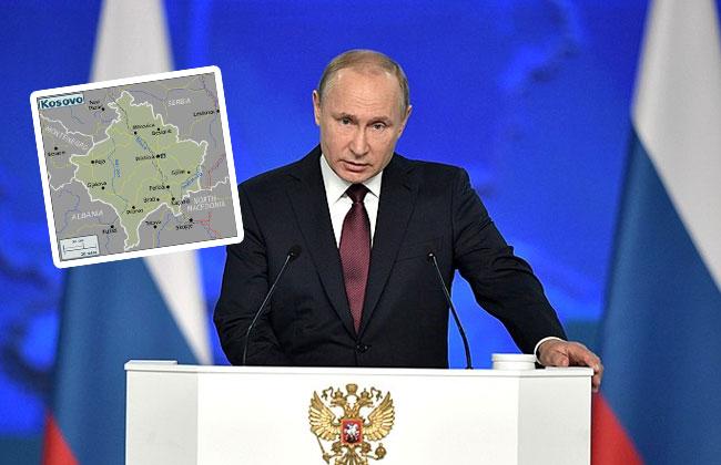 Putin-Soldaten-Kosovo