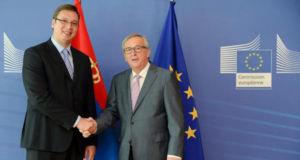 Serbien-EU-Mitglied-Juncker-Vucic