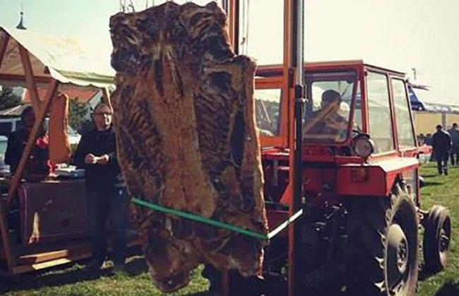 Weltrekord - Größte Slanina der Welt