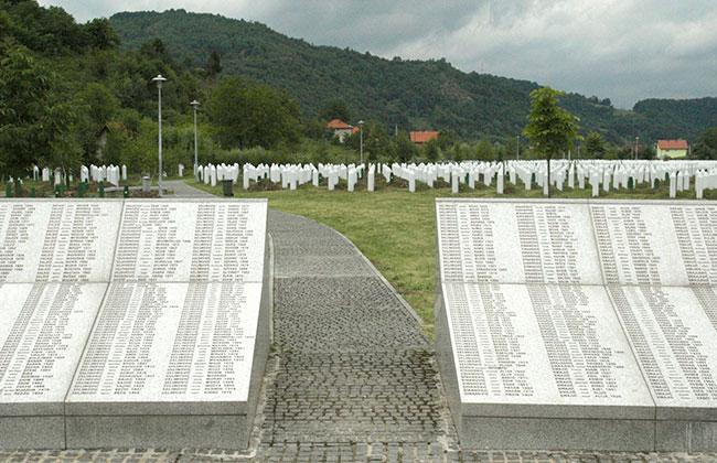 Srebrenica-Gräber