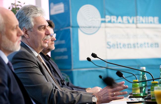 Pressekonferenz anlässlich des Starts der PRAEVENIRE Initiative Gesundheit 2030