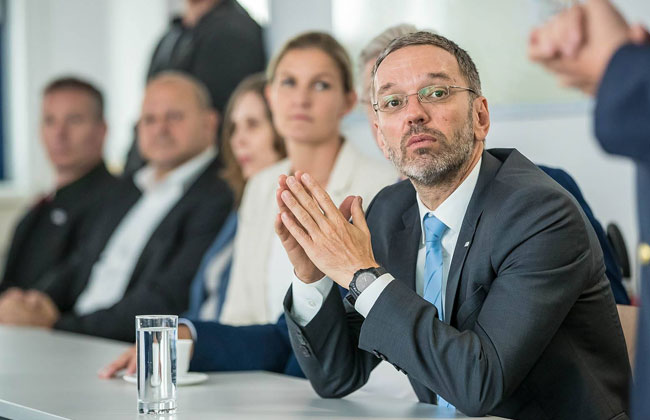 Herbert-Kickl-Balkanroute-Konferenz