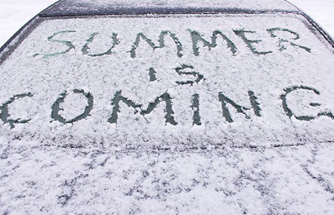 Schnee und Regen herrschen herzeit in Österreich