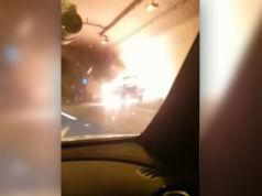 Auto-explodiert-im-Tunnel-Kroatien