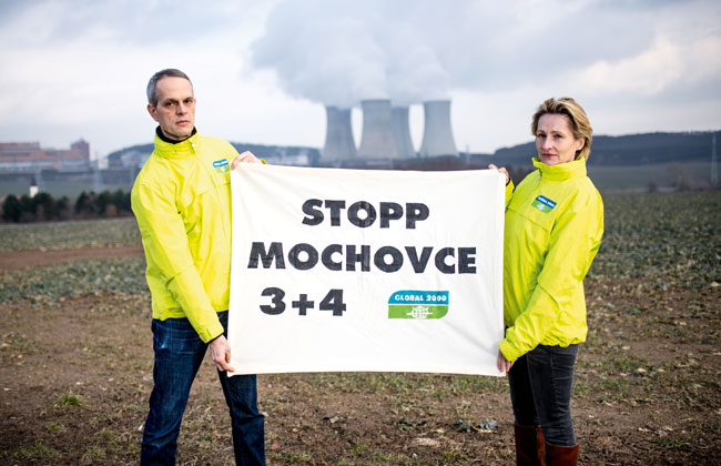 Petition: Nein zum Schrottreaktor Mochovce
