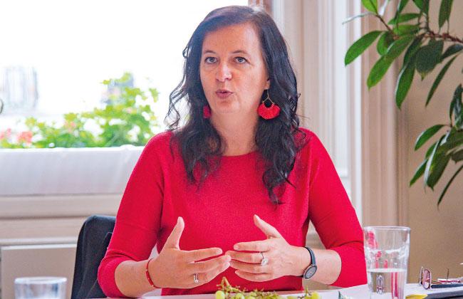 Ulli Sima, Stadträtin für Umwelt und Wiener Stadtwerke