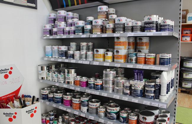 In Vivacolor kann man verschiedenste Farben erstklassiger Qualität finden.
