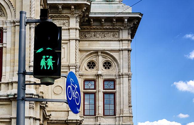 Künstliche Intelligenz Ampel Wien