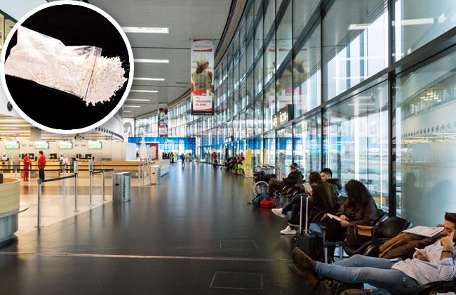 Kokain am Flughafen Wien-Schwechat