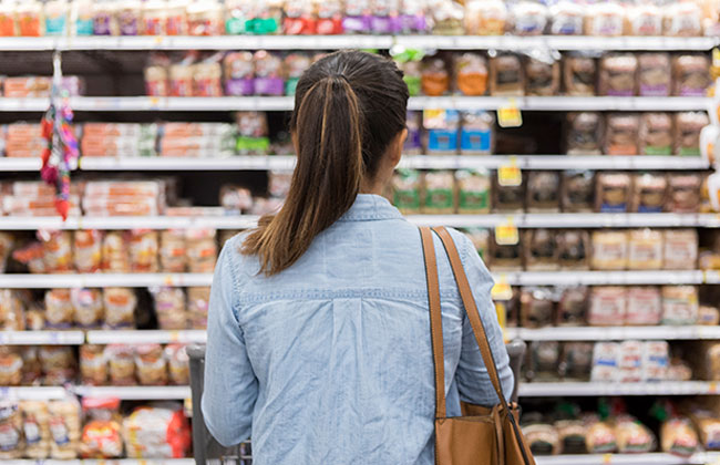 Zweitklassige Lebensmittel in der EU