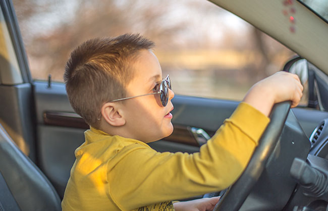 Wiener Neustadt Vierjähriger macht Autofahrt