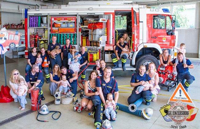 Feuerwehr-Babys