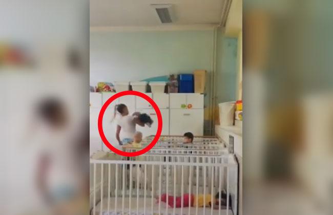 Serbische-Krankenschwester-Kindesmisshandlung
